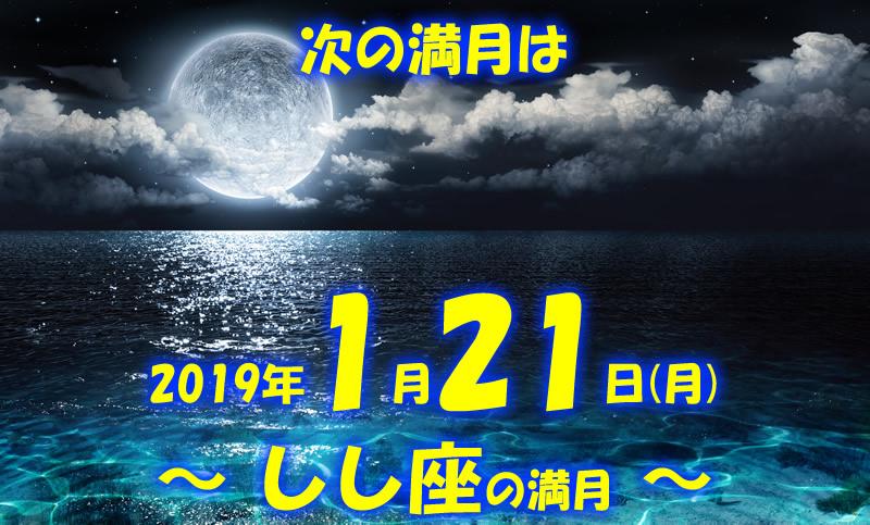 2019年1月しし座の満月top画像