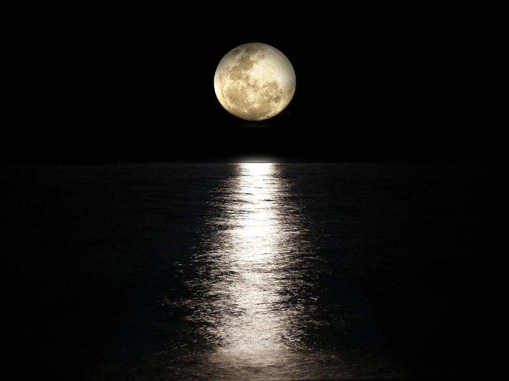 新月と潮の関係