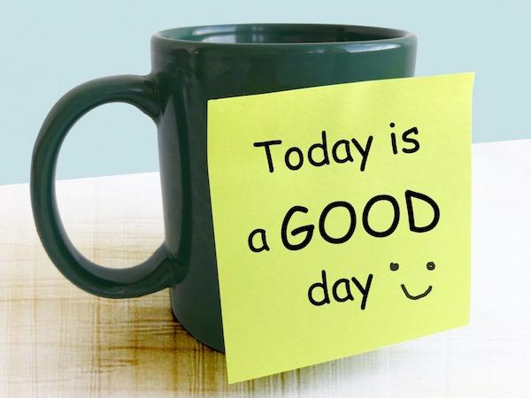 今日は良い日