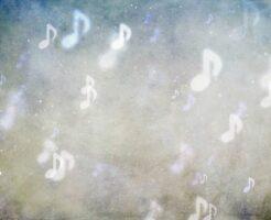 幻想的な音符