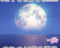 今日はおひつじ座の満月